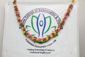 Sona Medical College of Naturopathy and Yoga Bhoomi Pooja