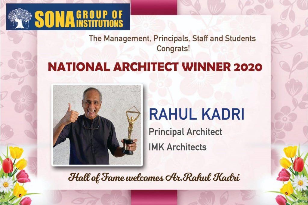 best architect award 2020